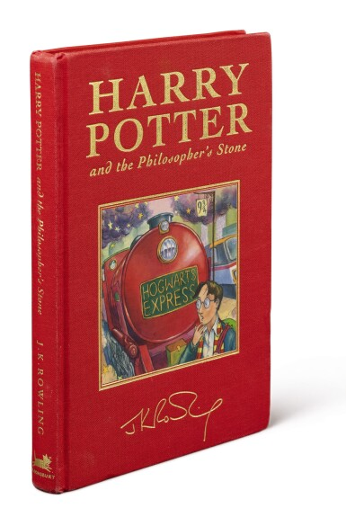 View 3. Thumbnail of Lot 158. ROWLING, J.K.    Harry Potter and the Philosopher's Stone. London: Bloomsbury, 1999.