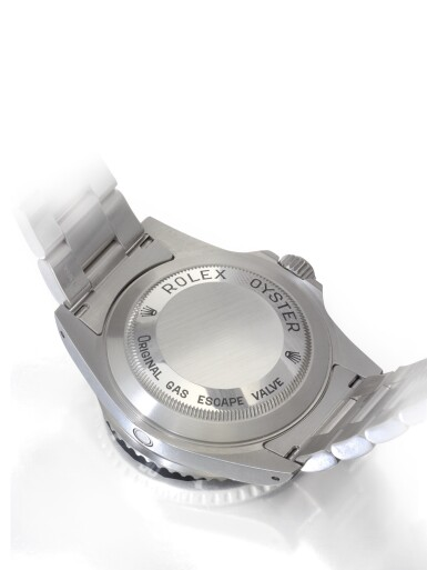 ROLEX SEA-DWELLER REF 16600   A STAINLESS STEEL AUTOMATIC CENTER SECONDS WRISTWATCH WITH DATE AND BRACELET CIRCA 2001