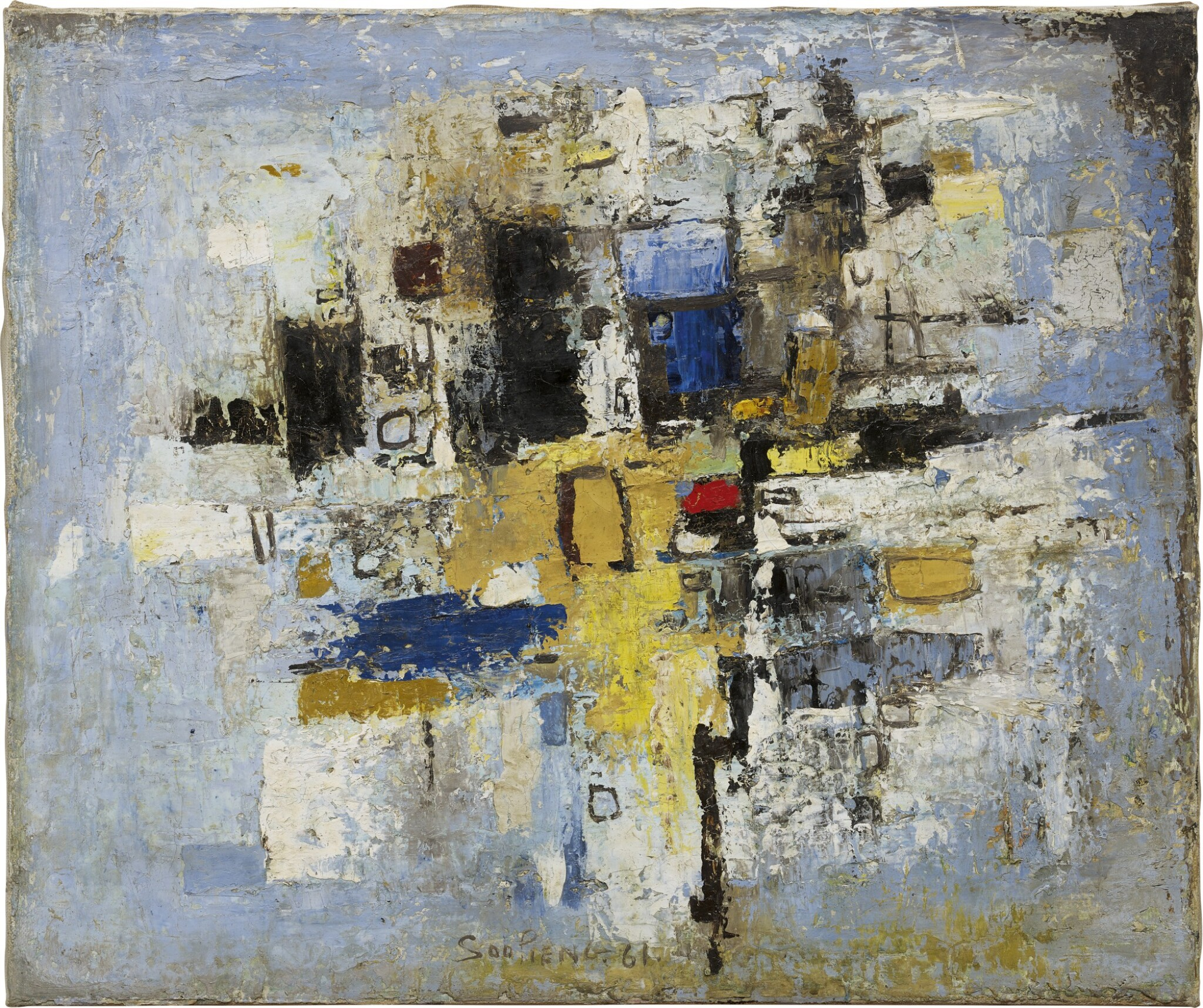 View full screen - View 1 of Lot 277. CHEONG SOO PIENG 鍾泗濱 | ABSTRACT LANDSCAPE 抽象風景.
