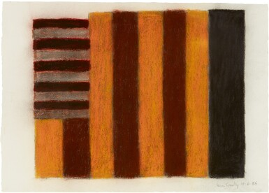 View 1. Thumbnail of Lot 215. SEAN SCULLY   10.6.86.