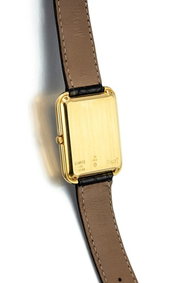 View 3. Thumbnail of Lot 1105. PIAGET   REFERENCE 4101, A YELLOW GOLD WRISTWATCH WITH BETA 21 MOVEMENT, CIRCA 1970.