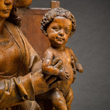 View 8. Thumbnail of Lot 9. WORKSHOP OF TILMAN RIEMENSCHNEIDER  | THE HOLY FAMILY.