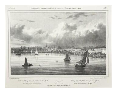 View 6. Thumbnail of Lot 225. Milbert, Jacques-Gérard |  An outstanding series of American views.