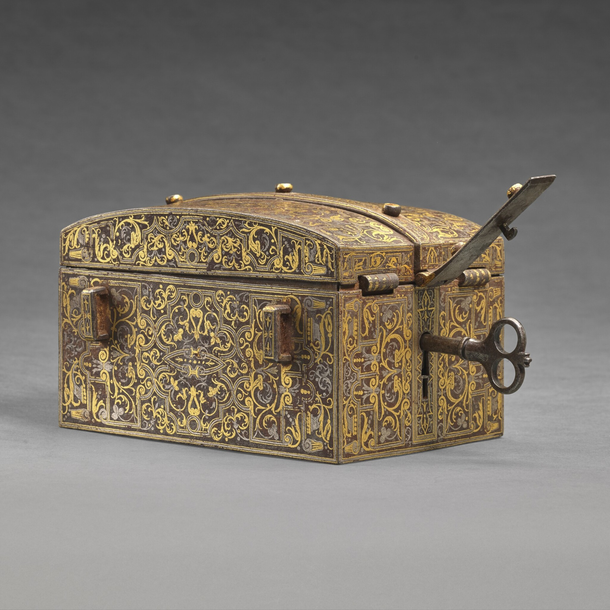 View full screen - View 1 of Lot 42. Italian, Milan, probably 16th century | Casket.