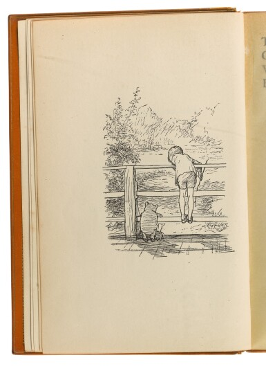 View 3. Thumbnail of Lot 158. MILNE, A. A. | The House at Pooh Corner. New York: E.P. Dutton and Co., 1928.