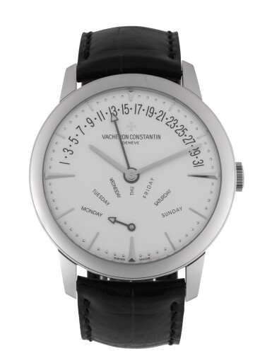 View 1. Thumbnail of Lot 5. VACHERON CONSTANTIN | PATRIMONY, REF 86020 WHITE GOLD WRISTWATCH WITH DAY AND DATE CIRCA 2012.