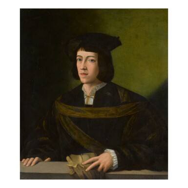 NORTH ITALIAN SCHOOL, FIRST QUARTER OF THE 16TH CENTURY | PORTRAIT OF A YOUNG NOBLEMAN