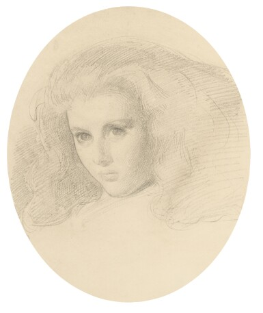 SIR WILLIAM BLAKE RICHMOND, R.A. | Portrait of Edith Liddell