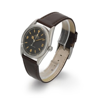 View 2. Thumbnail of Lot 364. ROLEX   EXPLORER, REF 5504, STAINLESS STEEL WRISTWATCH, CIRCA 1958.