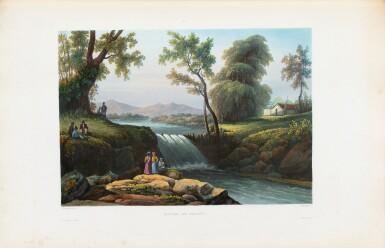 View 7. Thumbnail of Lot 215. LAPLACE. Voyage autour du monde de l'Inde et de Chine. 1833-1840. 7 volumes, dont 2 atlas et Zoologie..