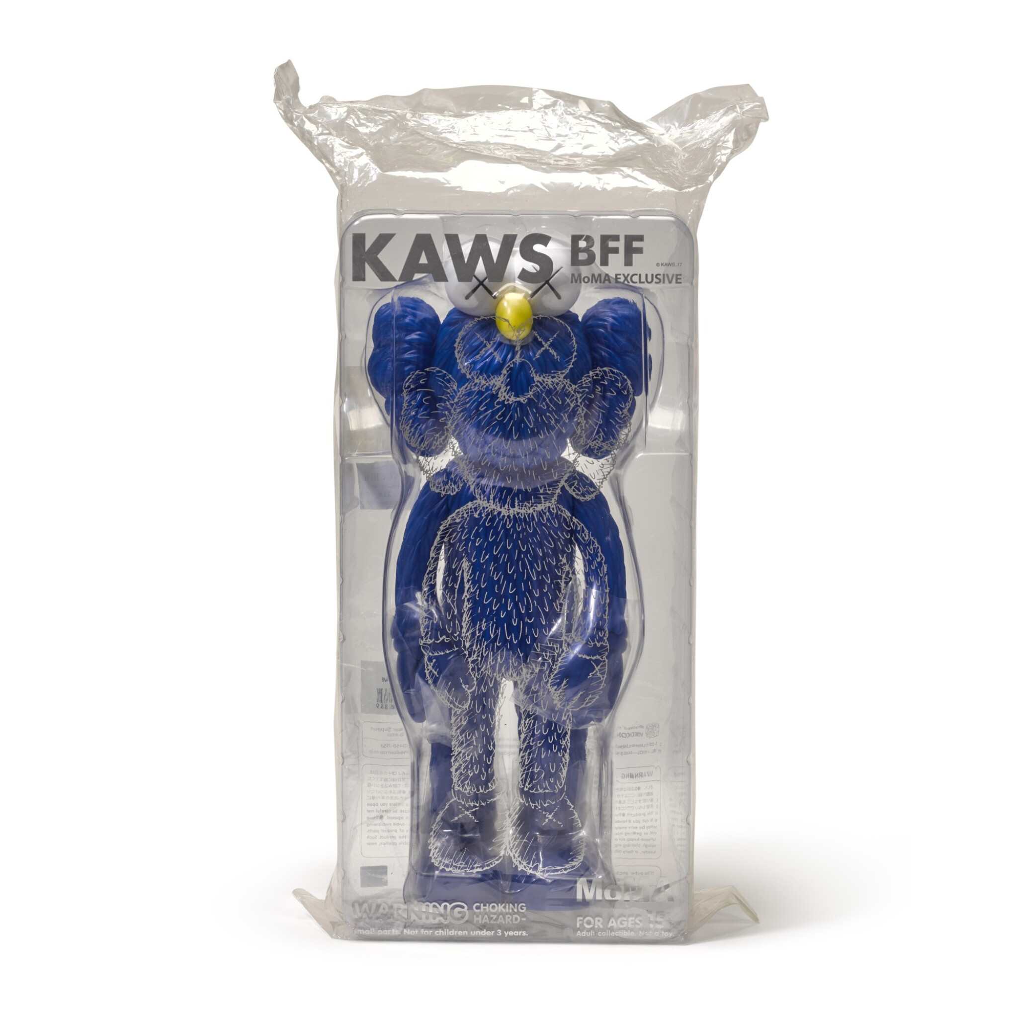 View full screen - View 1 of Lot 35. KAWS | BFF (BLUE).