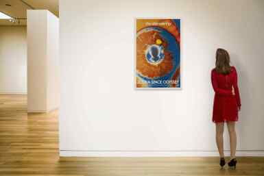 View 2. Thumbnail of Lot 4. 2001: A Space Odyssey (1968) poster, US .