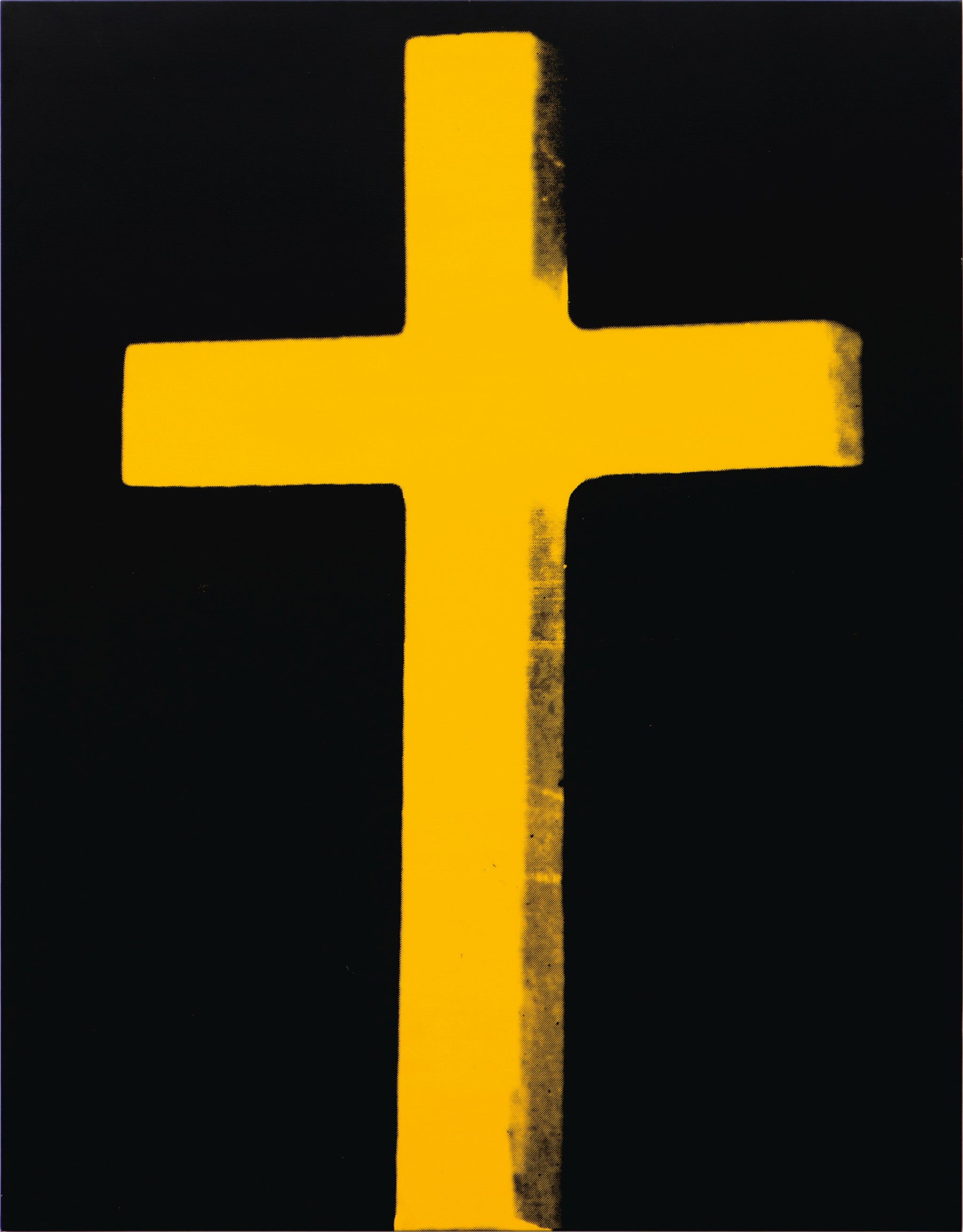 View full screen - View 1 of Lot 104. ANDY WARHOL | CROSS.