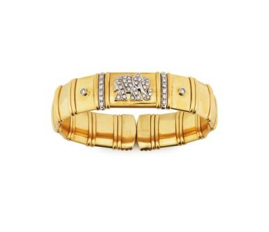 Diamond bangle-bracelet [Bracelet diamants]