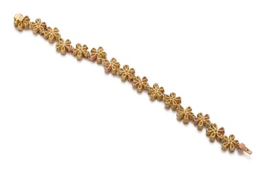 View 3. Thumbnail of Lot 1007. COLOURED DIAMOND BRACELET   彩色鑽石手鏈.