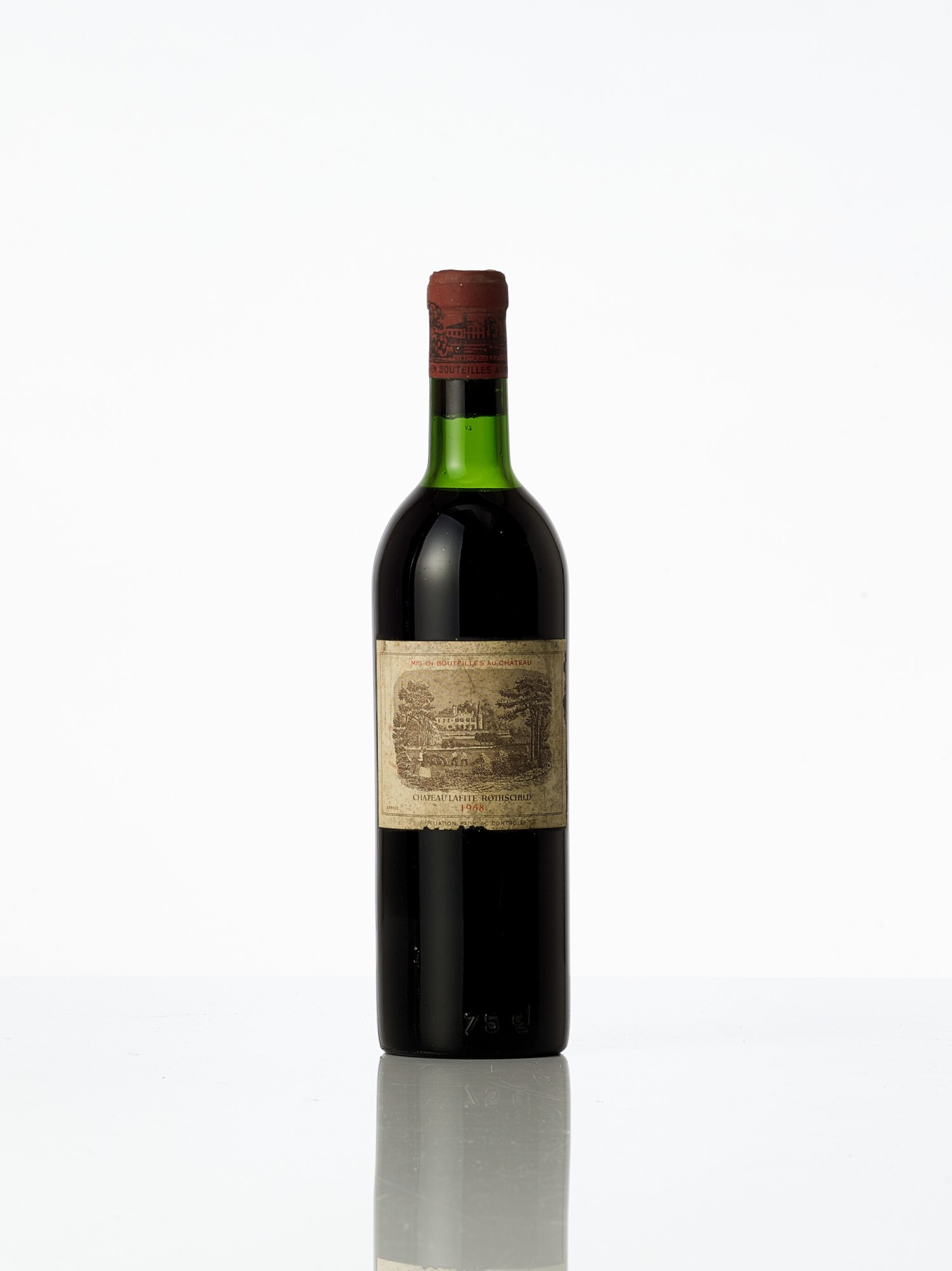 View full screen - View 1 of Lot 3405. Château Latour 1958  (2 BT).