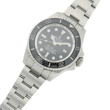 View 6. Thumbnail of Lot 282. REFERENCE 116660 DEEPSEA SEA-DWELLER A STAINLESS STEEL AUTOMATIC WRISTWATCH WITH DATE AND BRACELET, CIRCA 2007.