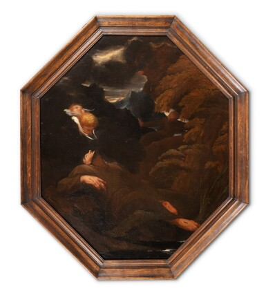 View 2. Thumbnail of Lot 153. Saint Francis of Assisi in Ecstasy.
