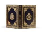 Mémoires. Imprimerie Royale, 1837. Maroquin bleu-nuit au chiffre du roi Louis-Philippe.