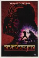 Revenge of the Jedi (1982) poster, US