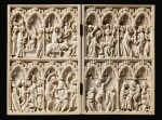 FRENCH, PARIS, CIRCA 1350-75 | AN IMPORTANT DIPTYCH WITH SCENES OF THE LIFE OF CHRIST