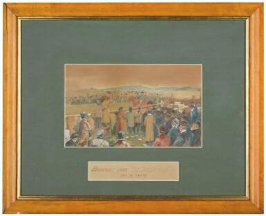 JACK BUTLER YEATS, R.H.A. | BUNGAY 1896, 'THE TIPPLER RUSH'