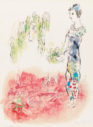 View 1. Thumbnail of Lot 45. Le Magicien de Paris II (Mourlot 598).