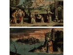 THE MASTER OF THE TWELVE APOSTLES | THE REPENTANCE OF SAINT AUGUSTINE; SAINT AUGUSTINE AND THE MYSTERY OF THE HOLY TRINITY