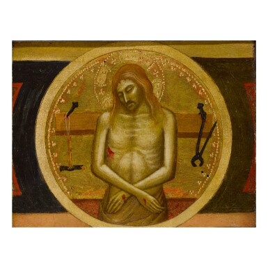 Sold Without Reserve | MATTEO DI PACINO | CHRIST AS MAN OF SORROWS (VIR DOLORUM) WITH INSTRUMENTS OF THE PASSION