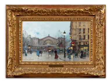 View 2. Thumbnail of Lot 214. The Gare de l'Est.