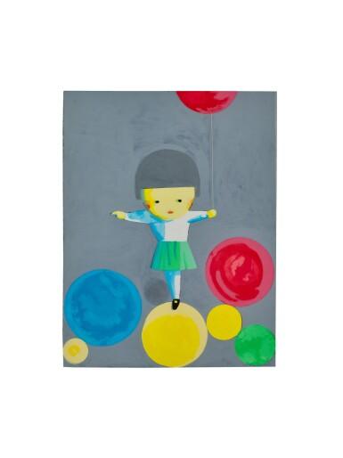 劉野 Liu Ye   女孩與氣球 Gril with Balloons