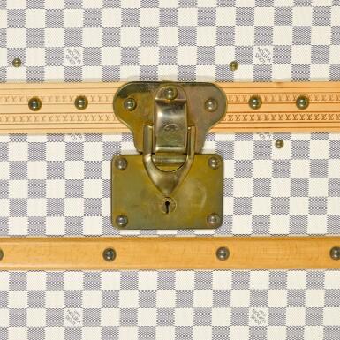 View 5. Thumbnail of Lot 58. 'Malle Armoire' Damier Azur 140 Wardrobe Trunk, 2007.