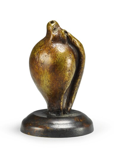 View 2. Thumbnail of Lot 103. HENRY MOORE | SMALL SHELL MOTHER AND CHILD.