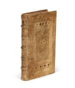 Serres, II. Partis commentariorum de statu religionis, [Geneva], 1573, pigskin binding by Thomas Krüger