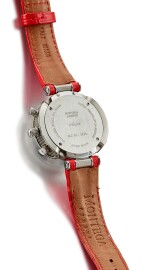 MONTEGA | AMORE, REFERENCE 220073, A STAINLESS STEEL AND DIAMOND-SET CHRONOGRAPH WRISTWATCH, CIRCA 2000