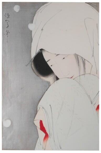 KITANO TSUNETOMI (1880–1947), TAISHŌ PERIOD, EARLY 20TH CENTURY   THE HERON MAIDEN (SAGI MUSUME)