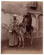Egypt   large album of photograph portraits, c. 1880