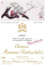 CHÂTEAU MOUTON ROTHSCHILD 1996
