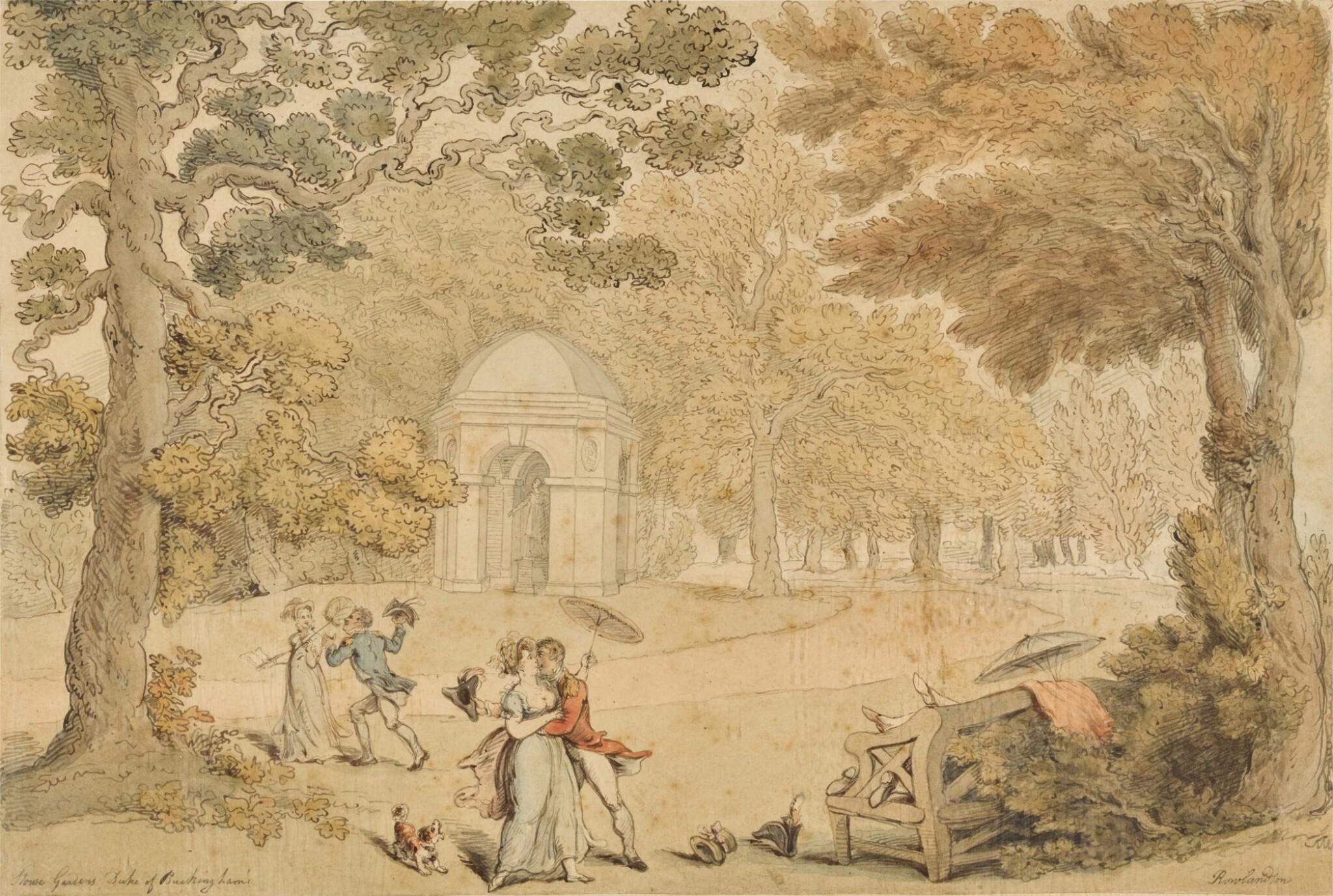 View full screen - View 1 of Lot 33. Stowe Gardens, Buckinghamshire.