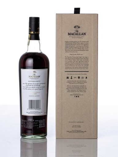 View 2. Thumbnail of Lot 5515. The Macallan Exceptional Single Cask 2017/ESB-9182/01 46.6 abv 1997 (1 BT70).