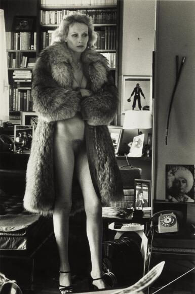 HELMUT NEWTON   'MERCEDES AT HOME', PARIS, 1975