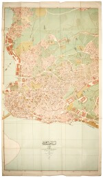 Necip Bey | 15 maps of Constantinople, [c.1918]