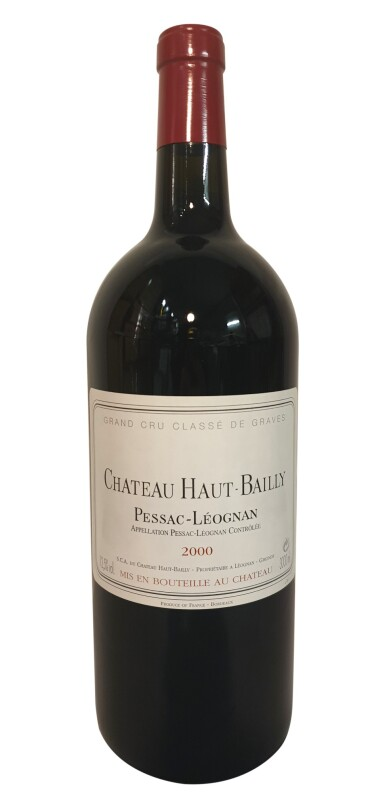 View 2. Thumbnail of Lot 16. HAUT-BAILLY, AN IMMERSION: 1 X 3 LITRE HAUT-BAILLY 2000, WITH TASTING, LUNCH AT THE CHÂTEAU & OVERNIGHT STAY AT CHÂTEAU LE PAPE .