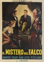 The Maltese Falcon (1941) poster, Italian