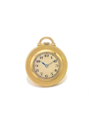 C.H. MEYLAN | A YELLOW GOLD OPEN FACED COIN WATCH CIRCA 1920
