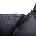 Hermès Bleu Nuit Birkin 35cm of Togo Leather with Gold Hardware