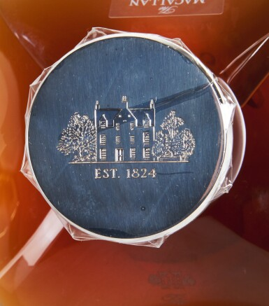 View 11. Thumbnail of Lot 21. The Macallan In Lalique Genesis Decanter 72 Year Old 42.0 abv NV  .