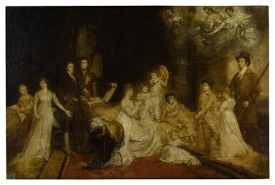 View 1. Thumbnail of Lot 170. The Knatchbull Family Portrait.