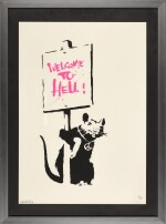 BANKSY | WELCOME TO HELL