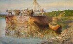 VASILY DMITRIEVICH POLENOV | BARGE